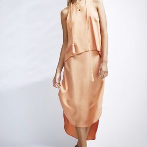 Finders Keeper's Prelude Skirt, Burnt Peach, Small